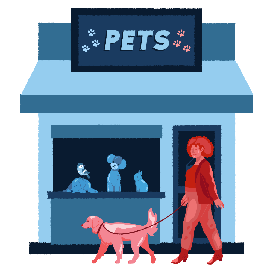 style Pets shop Vector images in PNG and SVG | Icons8 Illustrations