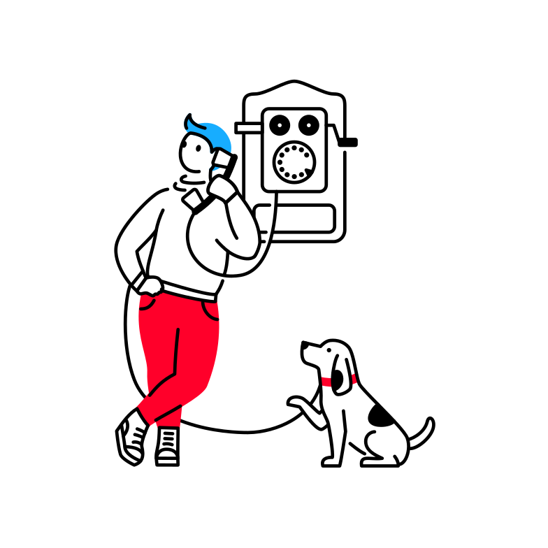 style Remote communication Vector images in PNG and SVG | Icons8 Illustrations