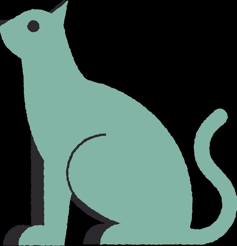 katze Clipart-Grafik als PNG, SVG