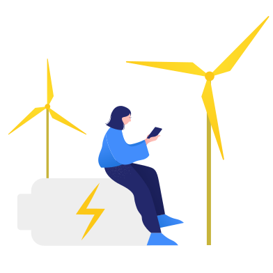 style Wind turbines images in PNG and SVG   Icons8 Illustrations