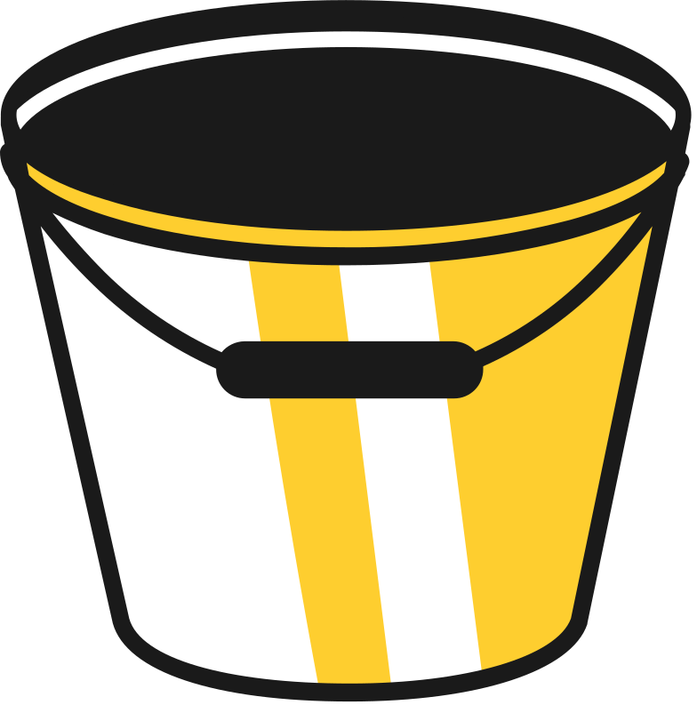 style empty bucket Vector images in PNG and SVG | Icons8 Illustrations