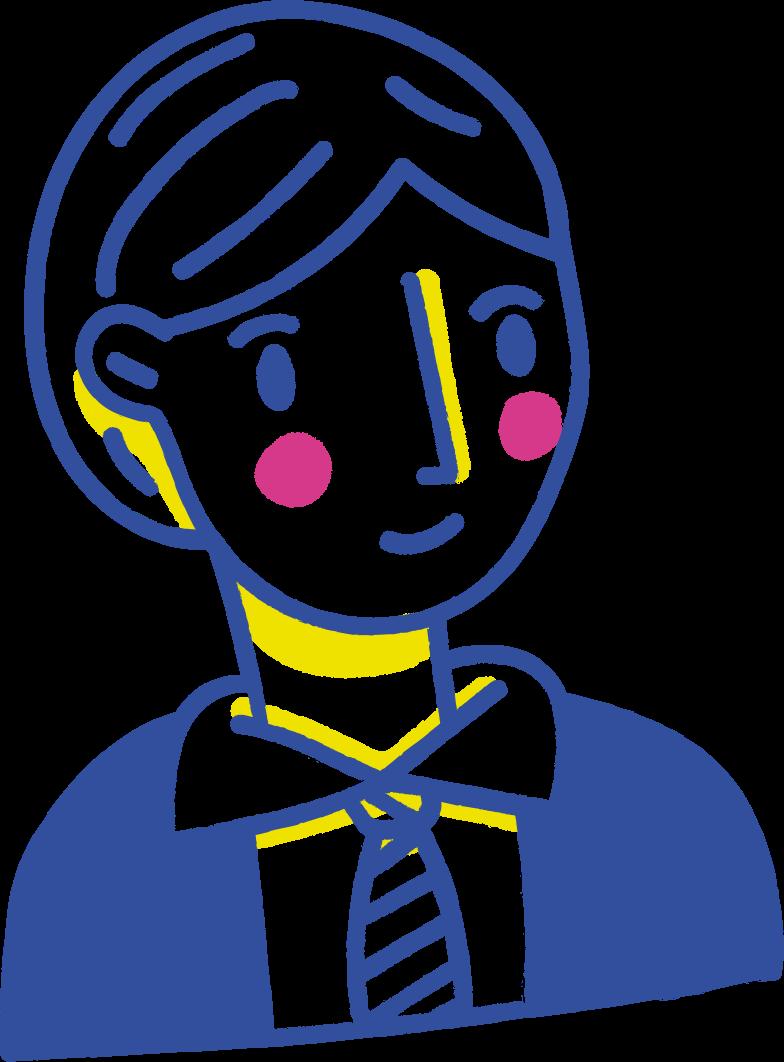 business man Clipart illustration in PNG, SVG