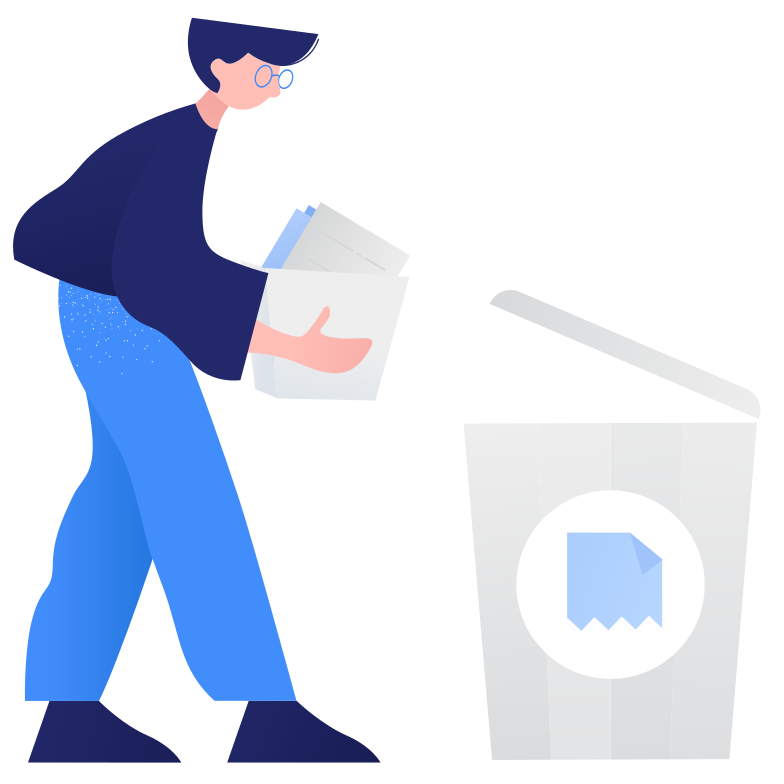 style Waste sorting- paper Vector images in PNG and SVG | Icons8 Illustrations