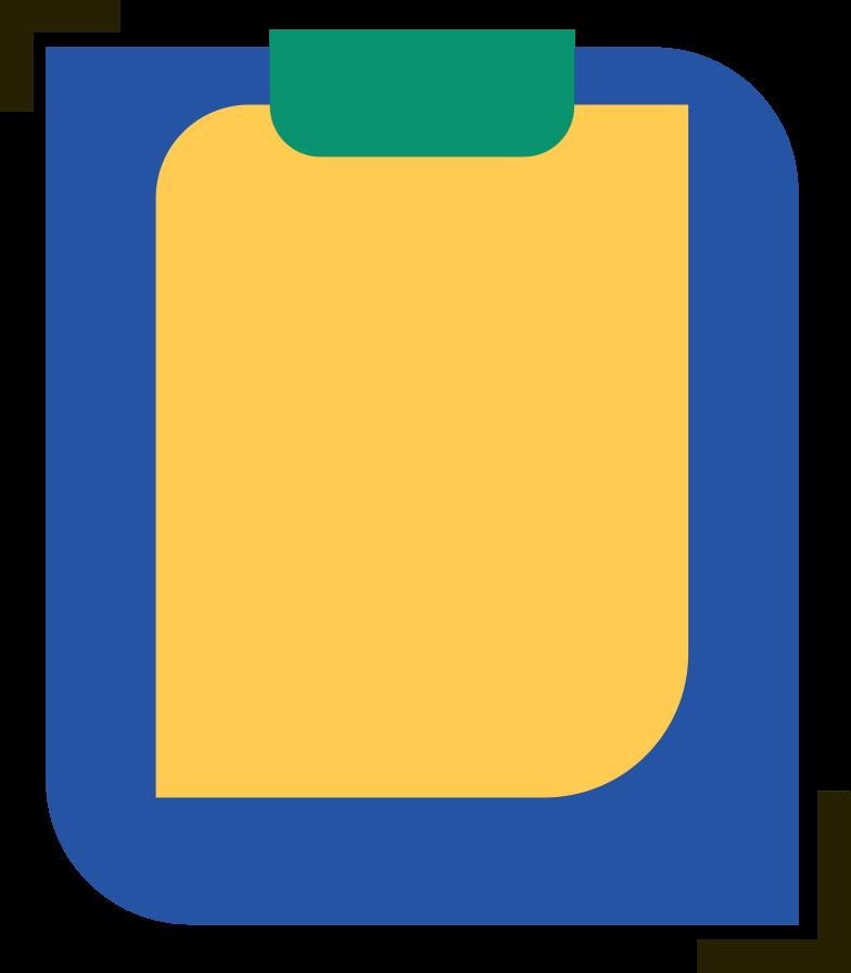 Imágenes vectoriales almohadilla con una lista en PNG y SVG estilo  | Ilustraciones Icons8