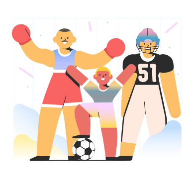 Sport Clipart Illustrations & Images in PNG and SVG