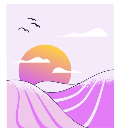 style Sunset images in PNG and SVG | Icons8 Illustrations
