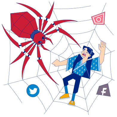 style Social network images in PNG and SVG | Icons8 Illustrations