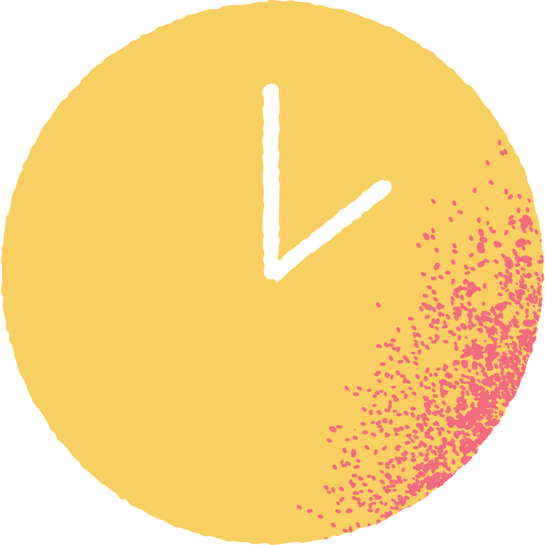 yellow time Clipart illustration in PNG, SVG