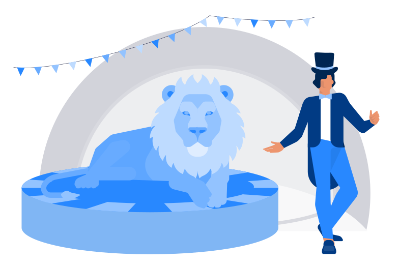 style At the circus Vector images in PNG and SVG | Icons8 Illustrations