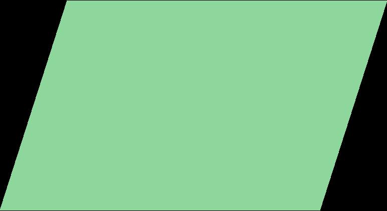 parallelogram-green Clipart illustration in PNG, SVG