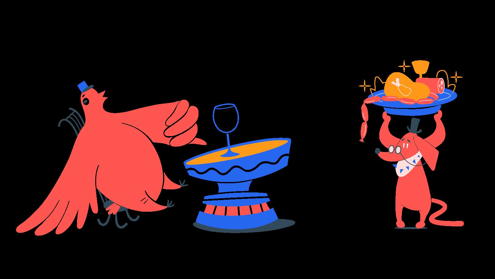 Restaurant Clipart illustration in PNG, SVG