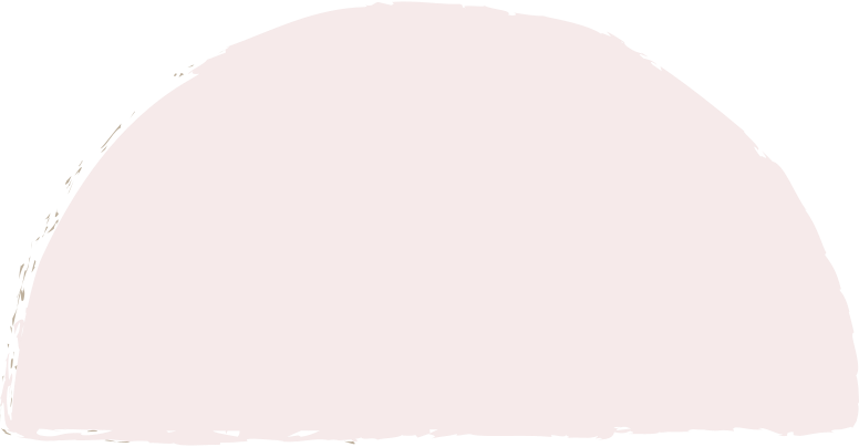 semicircle-light-pink Clipart illustration in PNG, SVG