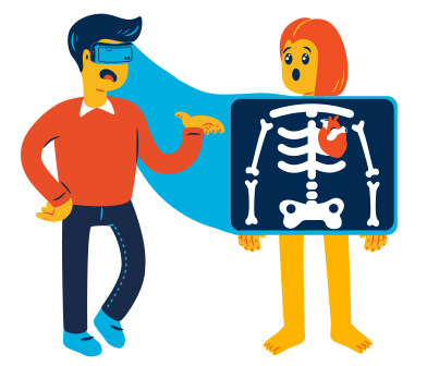 style Realist X-ray images in PNG and SVG | Icons8 Illustrations