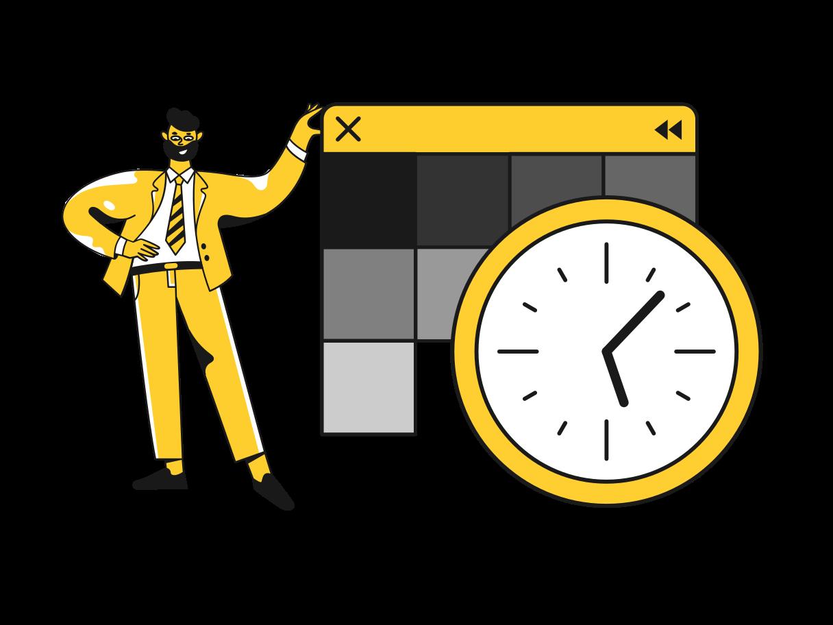 Website development Clipart illustration in PNG, SVG