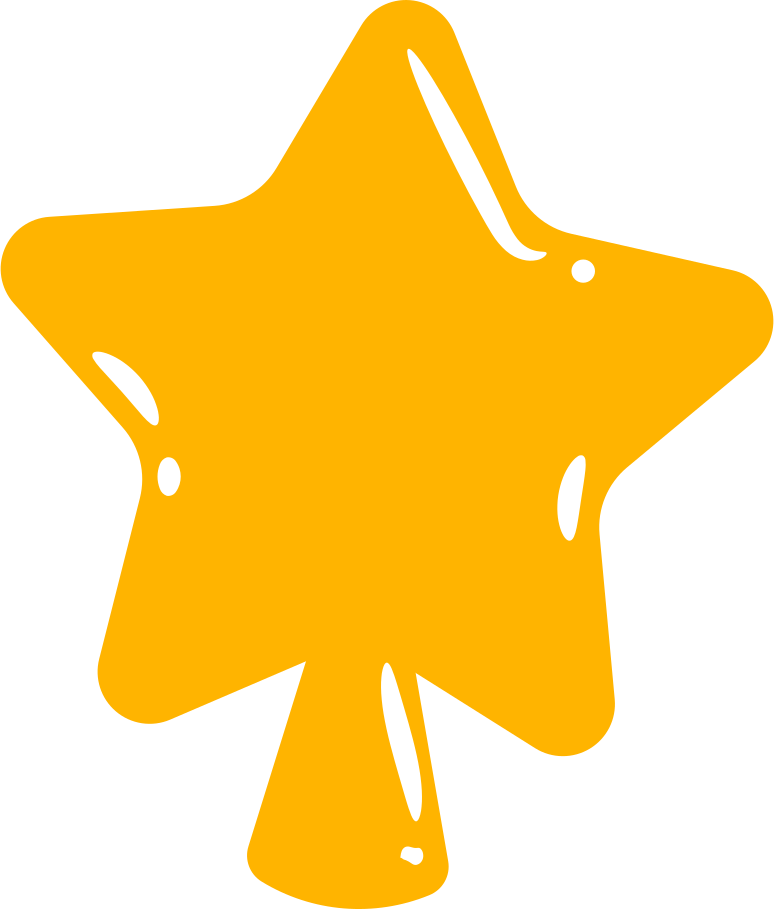 christmas star Clipart illustration in PNG, SVG