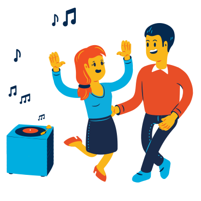 style Dancing images in PNG and SVG   Icons8 Illustrations