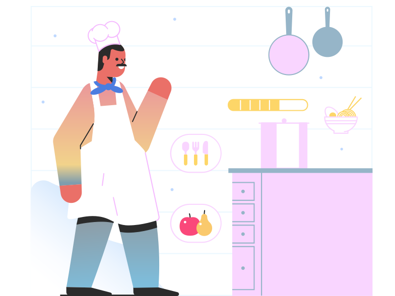 Chefe Clipart illustration in PNG, SVG