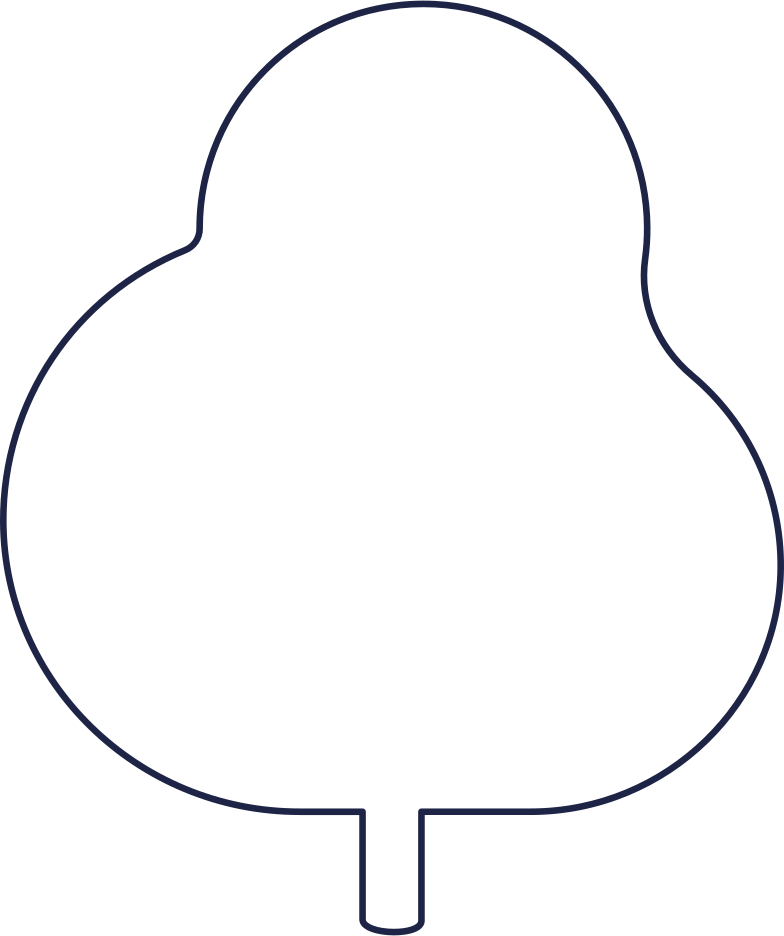 no message  tree 2 line Clipart illustration in PNG, SVG