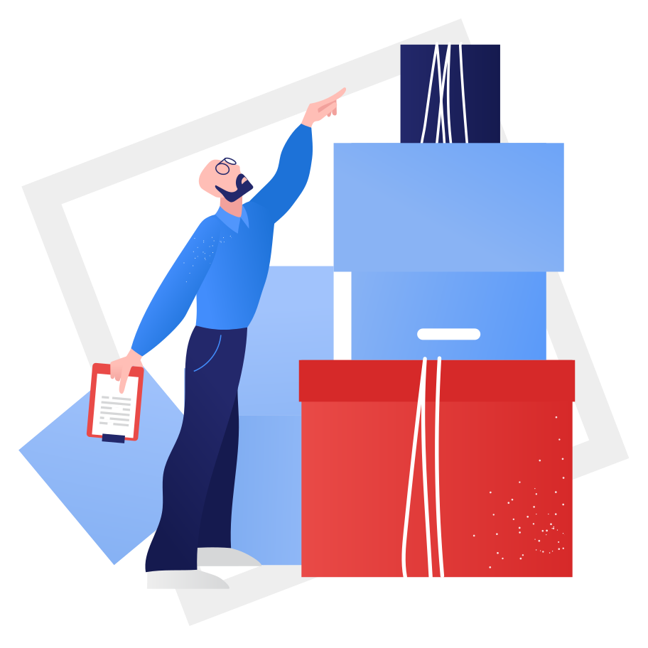 Pre-delivery processing Clipart illustration in PNG, SVG