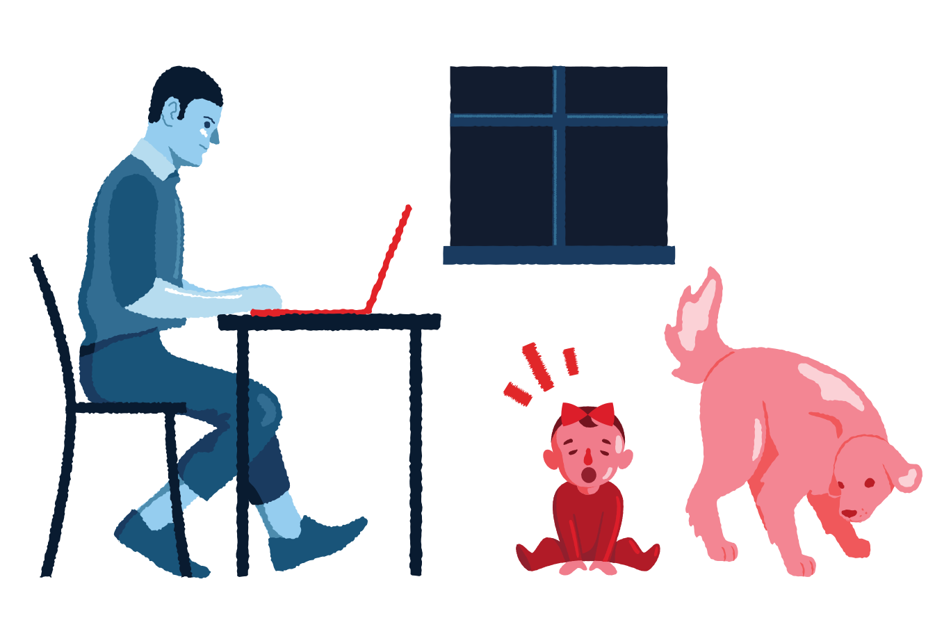style Working from home Vector images in PNG and SVG   Icons8 Illustrations