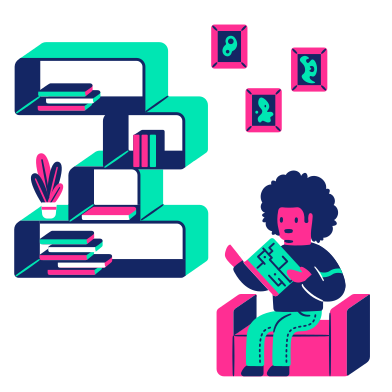 style Reading images in PNG and SVG | Icons8 Illustrations