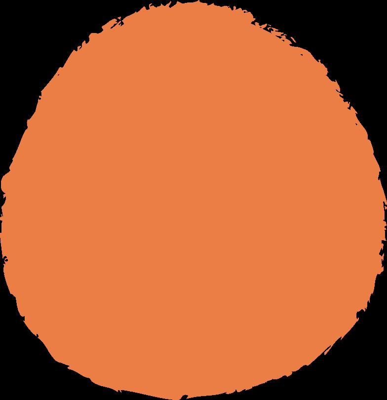 circle-orange Clipart illustration in PNG, SVG