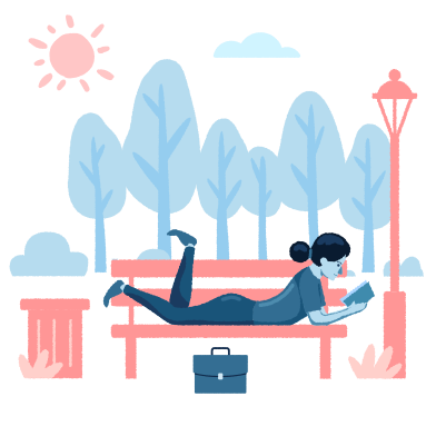 style Chill in the park images in PNG and SVG | Icons8 Illustrations
