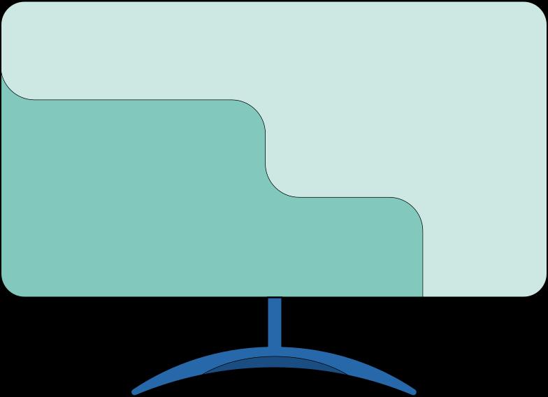 smart tv Clipart illustration in PNG, SVG
