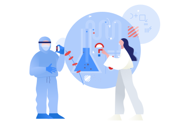 style Developing the vaccine against COVID-19 images in PNG and SVG | Icons8 Illustrations