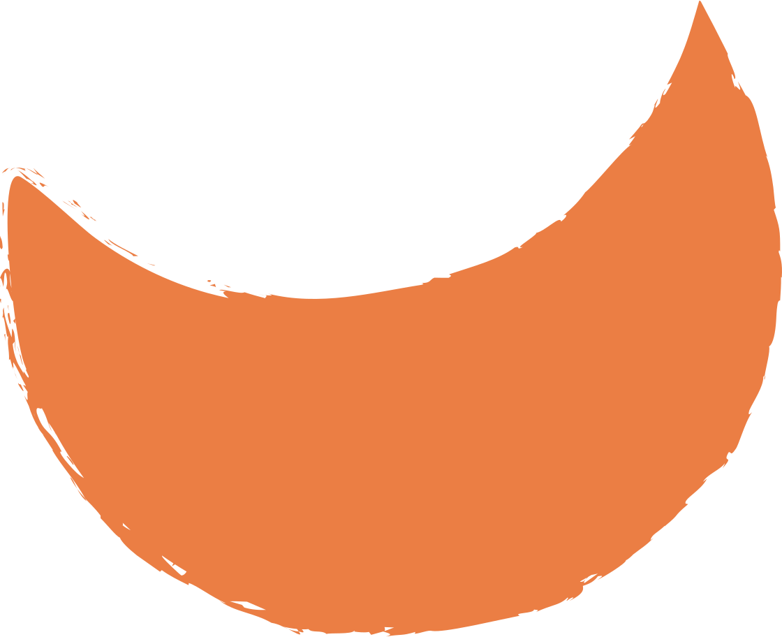 crescent-orange Clipart illustration in PNG, SVG