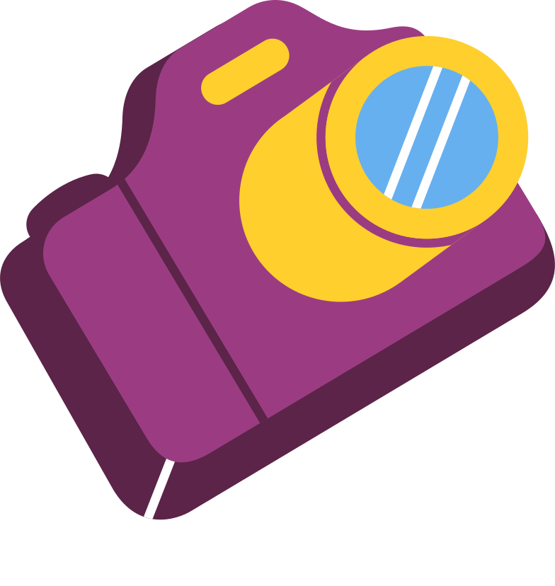 photo camera Clipart illustration in PNG, SVG