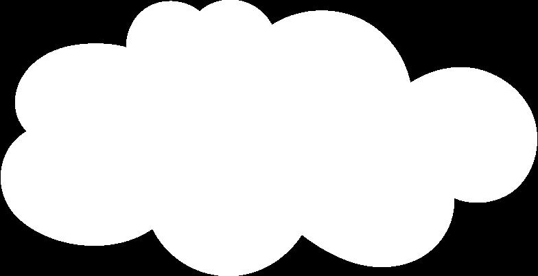 Ilustración de clipart de Nube en PNG, SVG