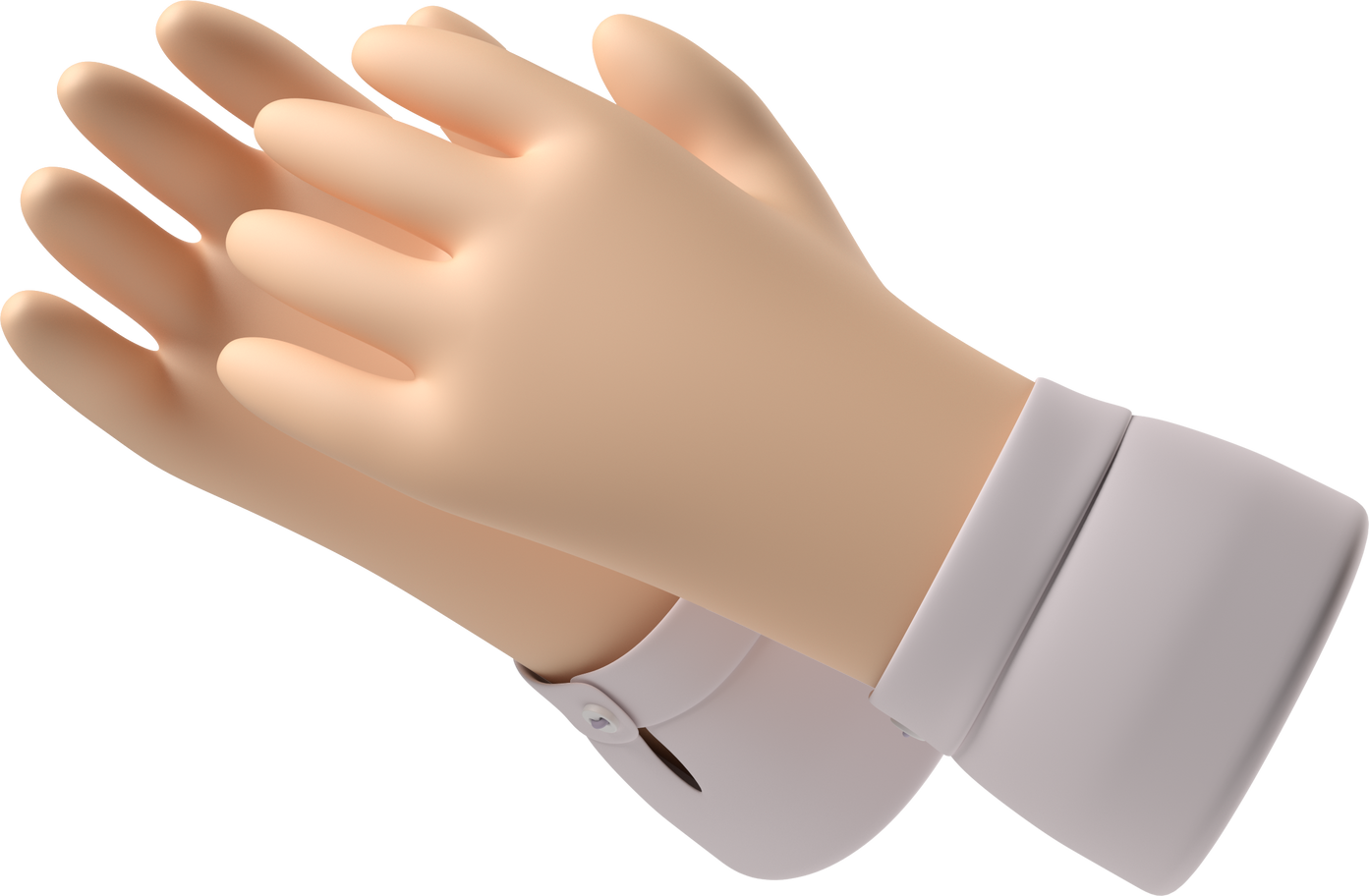 clapping hands Clipart illustration in PNG, SVG