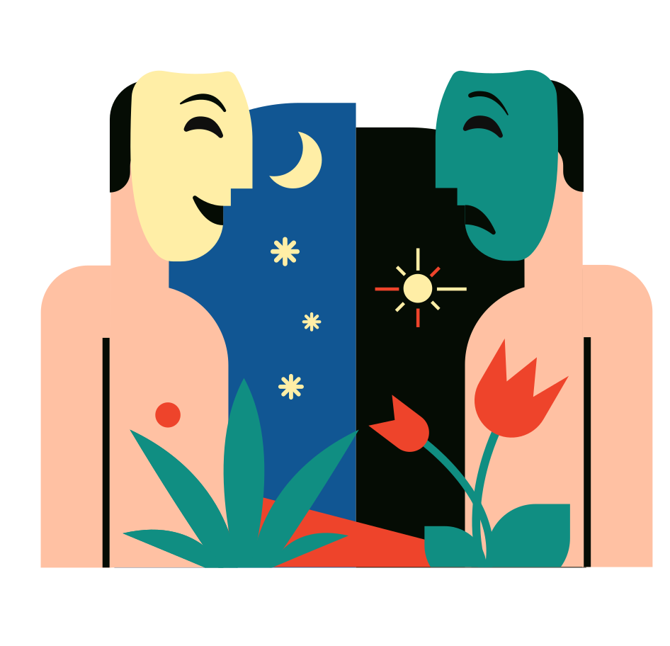 Blind Date Clipart illustration in PNG, SVG