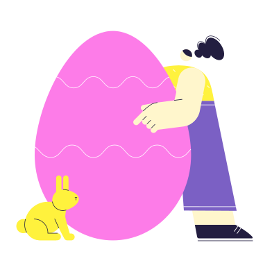style Easter meeting images in PNG and SVG | Icons8 Illustrations