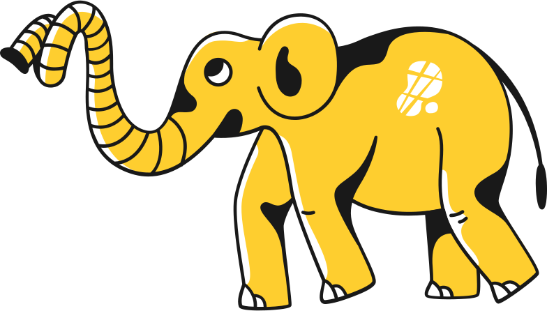 baby elephant Clipart illustration in PNG, SVG