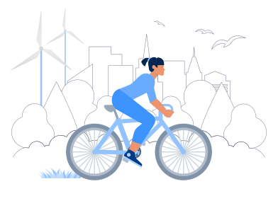 style Eco Life in The City images in PNG and SVG | Icons8 Illustrations