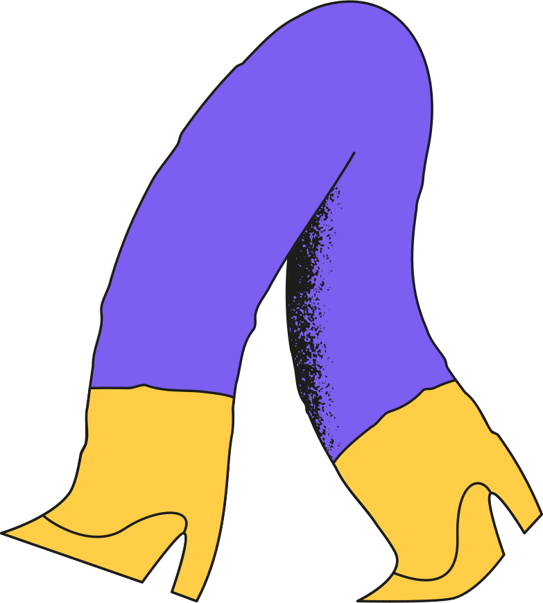 old person legs Clipart illustration in PNG, SVG