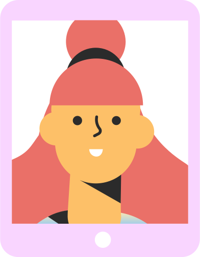 style tablet girl images in PNG and SVG   Icons8 Illustrations