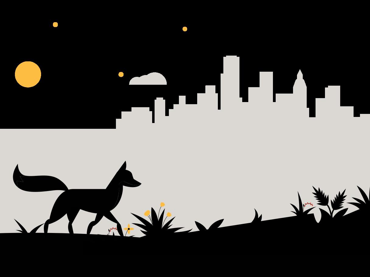 Landscape Clipart illustration in PNG, SVG