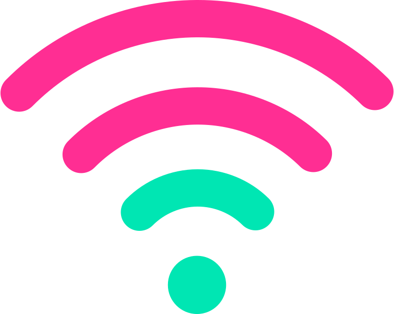 wifi sign Clipart illustration in PNG, SVG