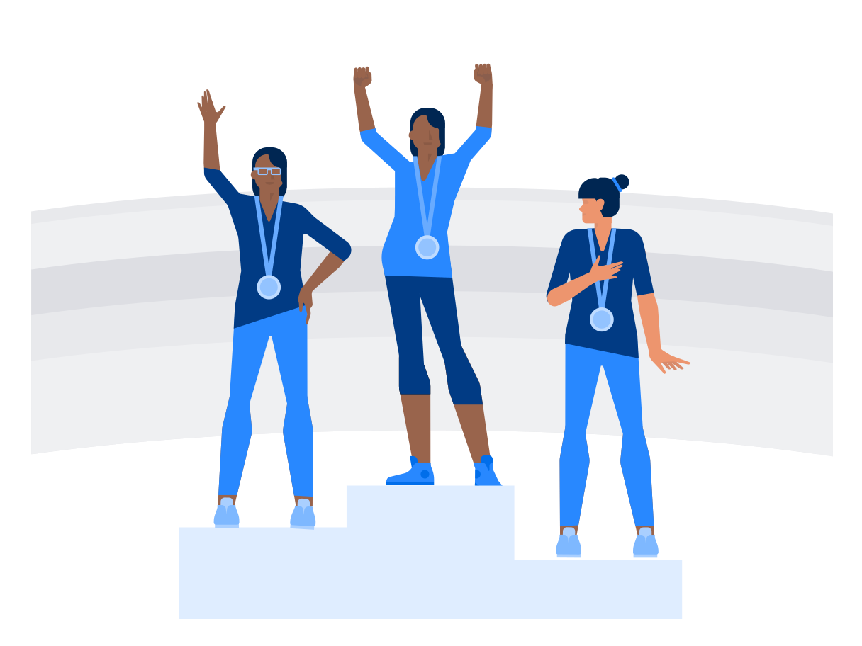 style Olympic medalists Vector images in PNG and SVG | Icons8 Illustrations