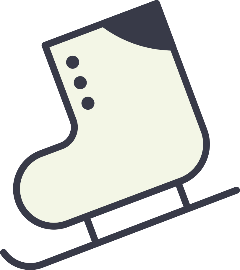 skates Clipart illustration in PNG, SVG
