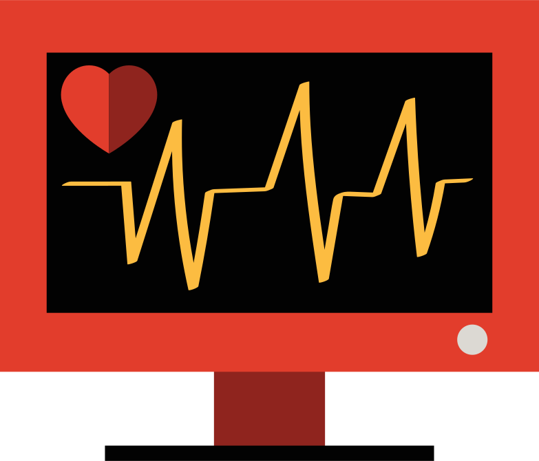style heart monitor Vector images in PNG and SVG | Icons8 Illustrations