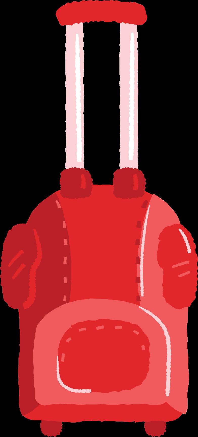 travel bag Clipart illustration in PNG, SVG