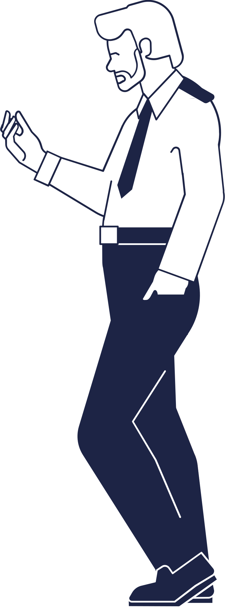 police man Clipart illustration in PNG, SVG