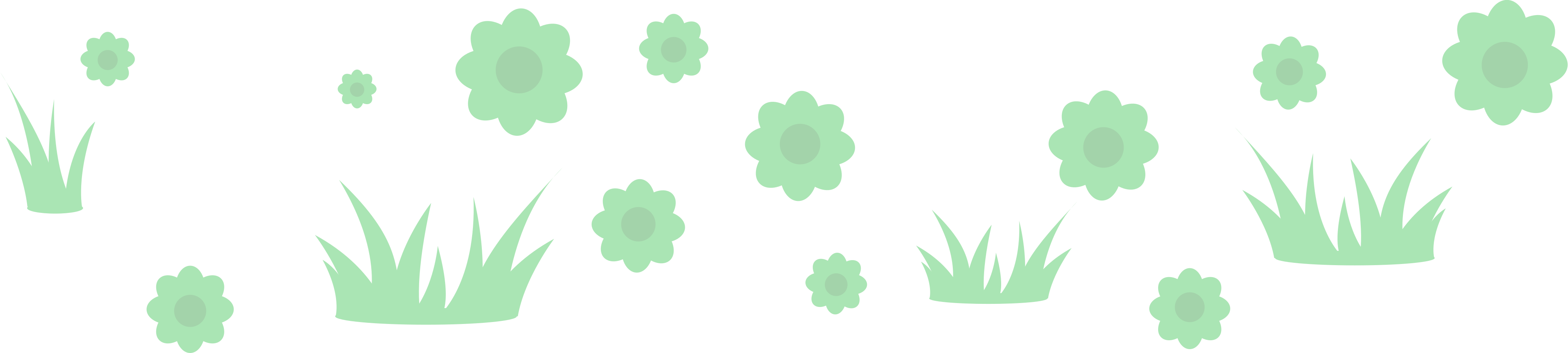 grass-and-flowers Clipart illustration in PNG, SVG