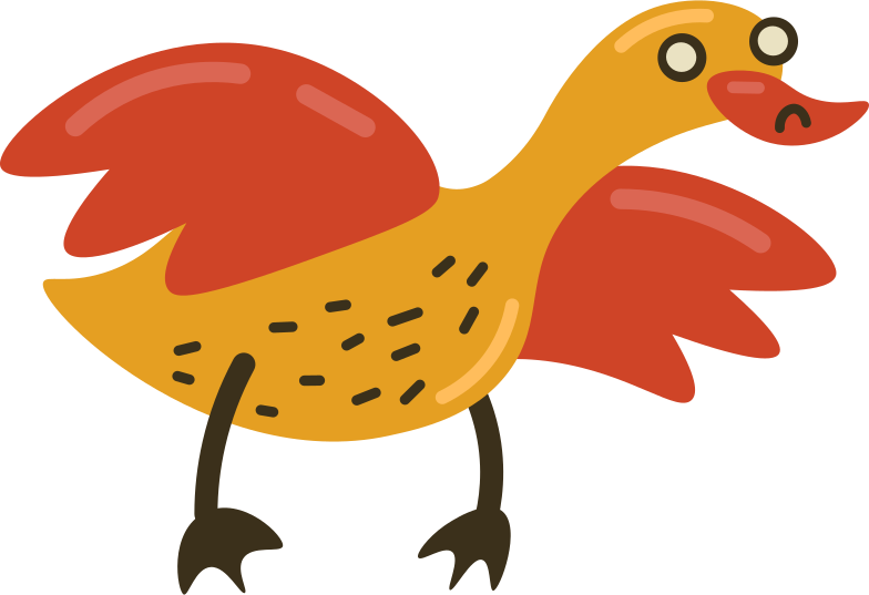 duck Clipart illustration in PNG, SVG