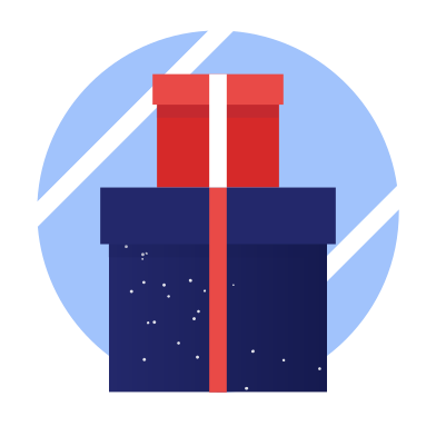 style christmas gift images in PNG and SVG | Icons8 Illustrations