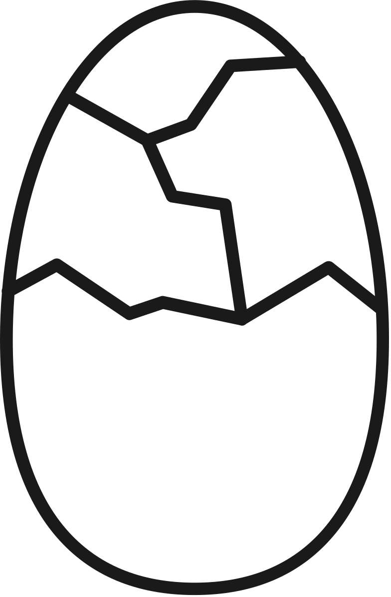 style cracked egg Vector images in PNG and SVG | Icons8 Illustrations